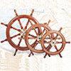 Boat Wheel, Deluxe Class, 60