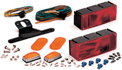 Waterproof Over 80 Trailer Light Kit - Optronics