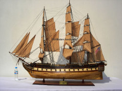 USS Constitution Model Ship 1797 Large - Old Modern Handicrafts