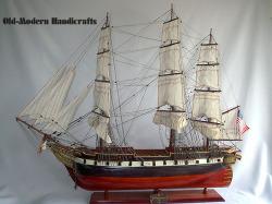 USS Constellation Model Ship 1797 Small - Old Modern Handicrafts