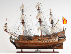 San Felipe 1690 Model Ship - Old Modern Handicrafts