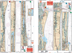 Fernandina Beach to New Smyrna, Florida Intracoastal Nautical Marine Charts - Waterproof Charts