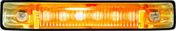 "6 LED 4"" Waterproof LED Utility Boat Strip Light, Amber - Seasense"
