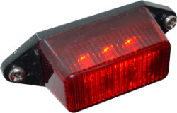 LED Clearance Boat Light, Red - Seasense
