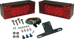 LED Low Profile Boat Tail Light Kit - Seasense