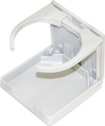 Adjustable Boat Drink Holder, White - Seasense