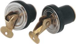 "Baitwell Plugs, 1/2"", Pair - Seasense"