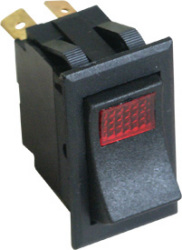 Illuminated Rocker Switch Illuminated, On/Off - Seasense
