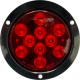 Flange Mount LED Round Boat Tail Light - Seas …