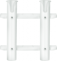 Two Rack Fishing Rod Holder, White - Seasense