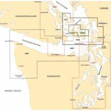 San Juan Islands, Washington Cruising Nautical Marine Charts, Large Print - Waterproof Charts