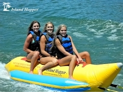 Island Hopper Banana Boat Tube/Towable; 3-Person Capacity