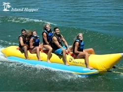 Island Hopper Banana Boat Tube/Towable; 5-Person Capacity