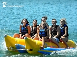 Island Hopper Banana Boat Tube/Towable; 6-Person Capacity (Commercial)