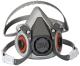 6000 Series Half Facepiece Respirator Only (3m Marine)