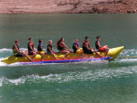 Island Hopper Banana Boat Tube/Towable; 8-Person Capacity (Commercial)