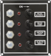 LED Switch Panel, 4-Gang - Seasense