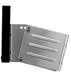 Angled Vertical Transom Mount Stationary Outboard Motor Brackets - Garelick
