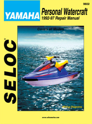 Yamaha Jet Ski PWC 1992-1997 Repair Manual - Seloc