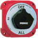 Heavy Duty Battery Selector Switch with Alternator Field Disconnect - Perko