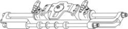 Mercury Engine Adapter Plate F/HC5342 - SeaStar