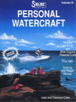 Yamaha Jet Ski PWC 1987-1991 Repair Manual - Seloc