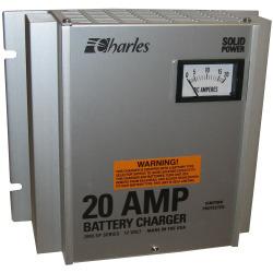 Battery Charger 20 Amp 12 Volt 120VAC 50/60 Hz 2000 Sp - Charles