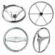 Stainless Steel Boat Steering Wheels