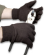 Brown Cotton Jersey Gloves (Ammex Gloves)
