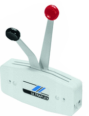 White Dual Lever Control - Uflex
