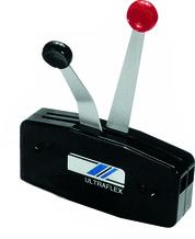 Black Dual Lever Control - Uflex