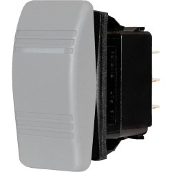 8275 Water Resistant Contura Switch, Gray - Blue Sea Systems