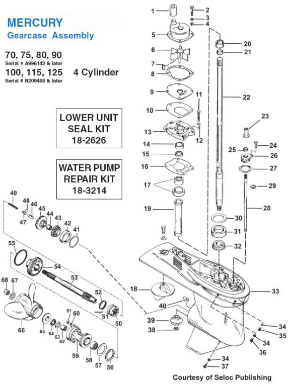 Wiring Diagram Mercury Outboard Motor