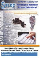 Boat Motor Repair Manual Online 3 Year Subscription - Seloc