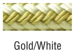 Fender Line, Braided, Gold/White, 3/8