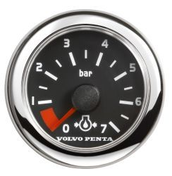 Oil Pressure, Barometric - Black