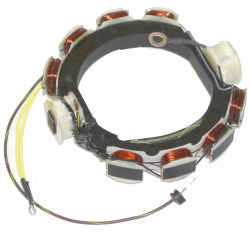 Johnson, Evinrude 173-1232 Screw Terminal Power Pack Stator, 6 Amp - CDI Electronics