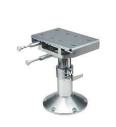 "Gas Rise Adjustable 14.38""-18.38"" Height Commander II 4.0 Seat Pedestal - Garelick"