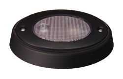 Oval Compartment Boat Light, Black - Innovative Lighting