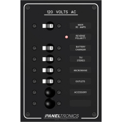 Paneltronics Standard Ac 6position Breaker Panel & Main