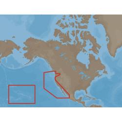 MAX U.S. West Coast & Hawaii C-Card Electronic Charts - C-Map