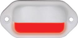 LED Mini Dual Mount Boat Light, White, 2 Red LEDs - Seasense