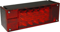 LED Low Profile Boat Trailer Tail Light, Left - Seasense