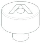 Disc Surge Brake Actuator Reservoir Replacement Cap