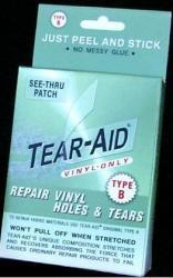 Tear-Aid Repair Patches Repair Kit, Type B, Vinyl Repair Only