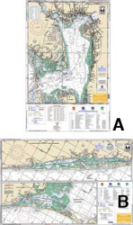 Charlotte Harbor & Lemon Bay, Florida Inshore Fishing Nautical Marine Charts - Waterproof Charts