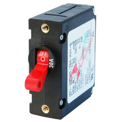 7221 AC/DC Single Pole Magnetic World Circuit Breaker, 30 Amp - Blue Sea Systems