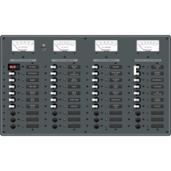 8095 Breaker Panel 30-12V 10-120AC - Blue Sea Systems