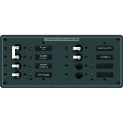 8412 Breaker Panel 120VAC 8 Position - Blue Sea Systems