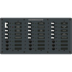 8565 Breaker Panel 230VAC 24 Position - Blue Sea Systems